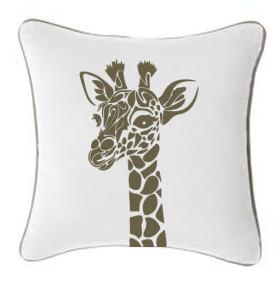 WC004 Giraffe Stencil