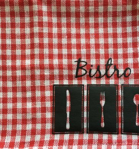 """Bistro"" Dishcloths"