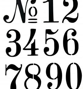 Alphabet Stencil 015TYP A-Z UPPER CASE Letters by SuperiorStencils