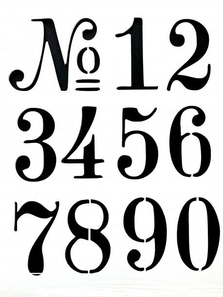 Number Stencils on Stencil Revolution
