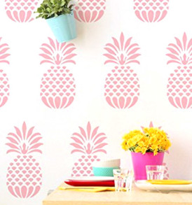 WC020 Pineapple Stencil