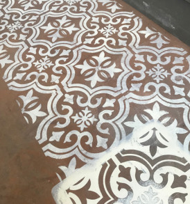 Decor Repeat Designer Tile P1