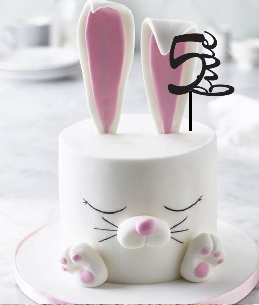 5th Birthday Cake Topper