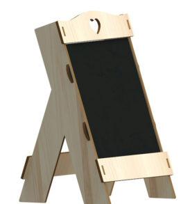 lasercut blackboard