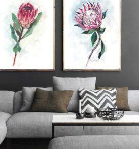 protea prints