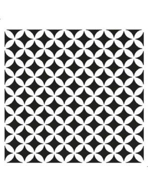 geometric repeat stencil