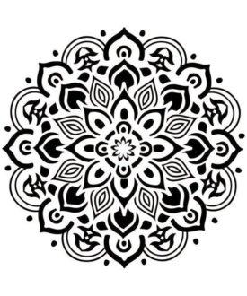 mandala Stencil